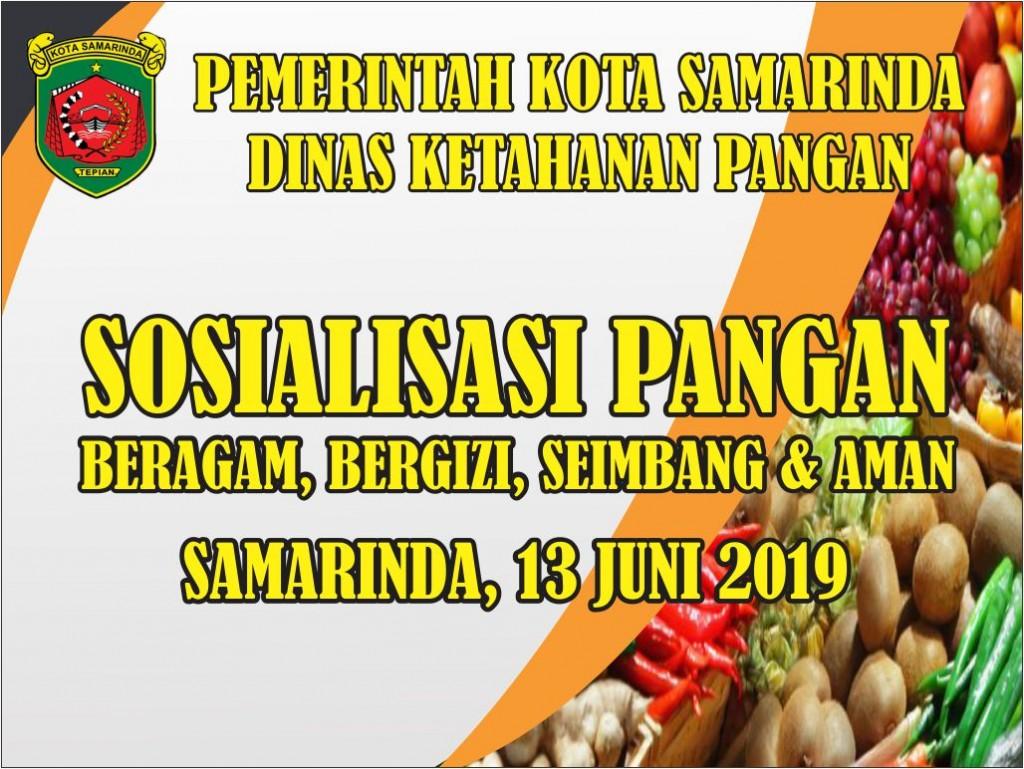 Sosialisasi Pangan Beragam, Bergizi, Seimbang & Aman ( B2SA )